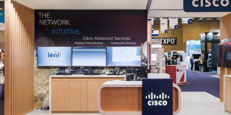 The Cisco Booth